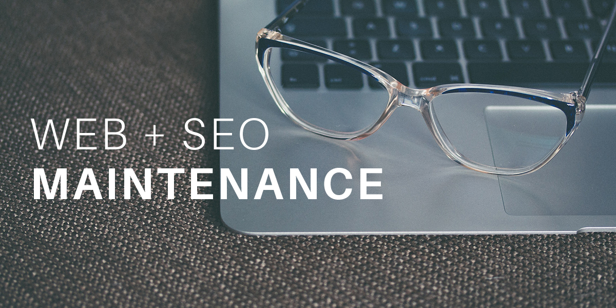 Web and SEO Maintanence
